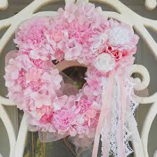 s home shabbydazzle pink wreaths and a giveaway