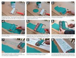 what of roller should i use to paint cabinets damask patterned paint roller dovetails vintage