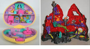 children 90s polly pocket mighty max