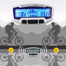 bicycle waterproofs 2017 wireless waterproof lcd bicycle bike cycling computer