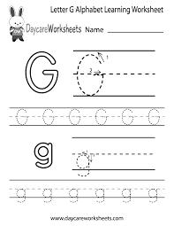 letter g worksheets for kindergarten worksheets
