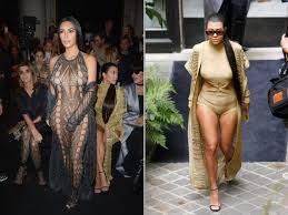 Kourtney Kardashian Home Decor by Kim And Kourtney Kardashian Kris Jenner Attend Balmain