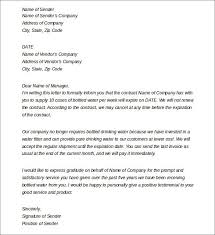 termination letter samples free download termination of services