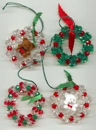 diy beaded wreath ornaments from legit gifts