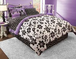 Bedroom Ideas For Teenage Girls Black And White Best Black White And Purple Bedroom Bedroom And Bedding Ideas