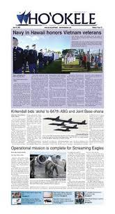 ho u0027okele june 16 2017 pearl harbor hickam newspaper by navy
