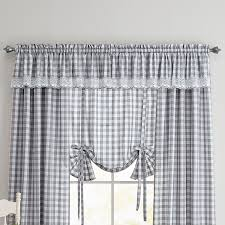 buffalo plaid valance curtains u0026 drapes brylanehome