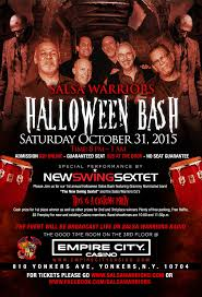 salsa warriors halloween bash live with the new swing sextet