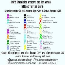 9th annual tattoos for the cure pomona ca october 21st