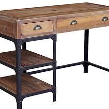 Modern Industrial Desk Reclaimed Wood Desk Industrial Dining Talbe Modern Desk Home
