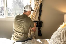 best place to buy gun cabinets store your home defense firearm in a access gun safe