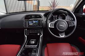 jaguar jeep inside 2016 jaguar xe r sport 20t review video performancedrive