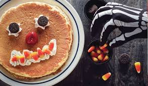Get Free Pancakes At Participating Ihop Brings Back Scary Pancakes And Free Offer Food Newsfeed