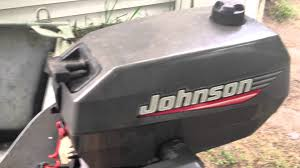 1999 johnson 4 hp 2 stroke youtube