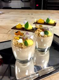 verrine pastry chef patisserie and food