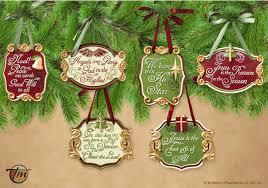 christian tree ornaments tree nordmann fir
