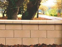 hollow concrete block for retaining walls high performance