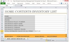 How To Create An Inventory Spreadsheet Free Simple Inventory Management Template For Excel