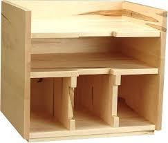 Desk Organizer Box Desk Wooden Desktop Organizers With Drawers Wood Desk Organizer