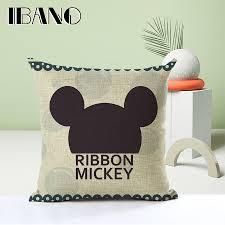 canap mickey mickey coussin décoratif couvre pour canapé bureau de voiture