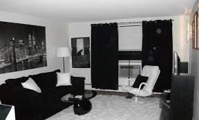 Black And White Room Decor Black And White Living Room Alluring Black And White Living Room