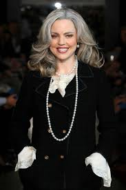 good grey hair styles for 57 year old the grey hair trend the celebrities who have rocked it melissa