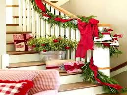 How To Decorate A Banister Christmas Stairs Decoration Ideas Youtube
