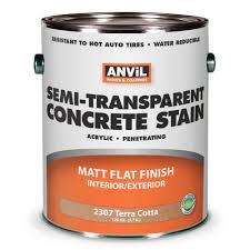 anvil semi transparent concrete stain penetrating acrylic interior