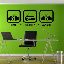 Gamer Home Decor Free Shipping Gaming Boys Room Decal Gaming Military Airplane