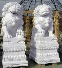 white foo dogs outdoor size white marble foo dog buy foo dog