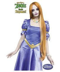 rapunzel halloween costume once upon a zombie rapunzel wig kids