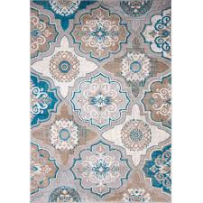 Blue Brown Area Rugs Blue And Brown Area Rug Roselawnlutheran