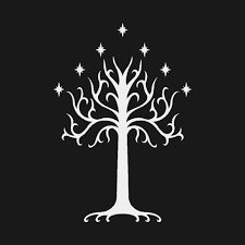 white tree of gondor t shirt the lord of the rings white tree of