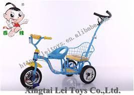 siège vélo pour bébé 2 sièges tricycle vélo pour jumeaux 2 dans 1 avec barre de poussée