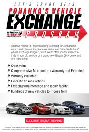 nissan finance establishment fee pohanka vehicle exchange program pohanka nissan of fredericksburg