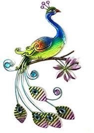 amazon com regal art u0026 gift pretty peacock wall decor wall