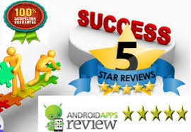 android reviews dominate the app store by buy android app reviews service