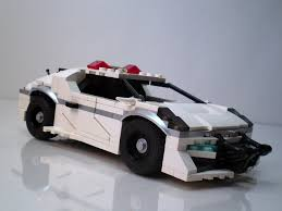 lego sports car futuristic japanese police vehicles a lego creation by dylan