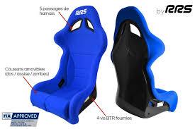siege baquet rrs futura 2 fia blue seat 2018 rrs spécialiste du sport automobile