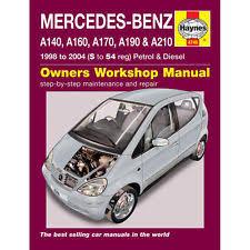 mercedes car manual class a mercedes car manuals literature ebay