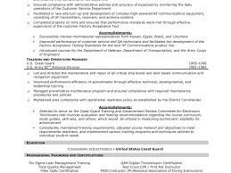 100 sample resume for electronics test technician