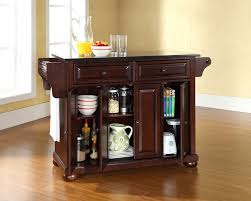 decorating alexandria solid black granite top kitchen island by