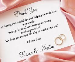 wedding gift message wedding thank you cards stylish thank you card for wedding gift
