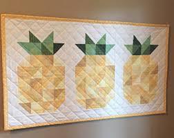 pineapple pattern etsy