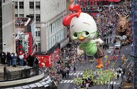 disney floats macys thanksgiving day parade history chicken