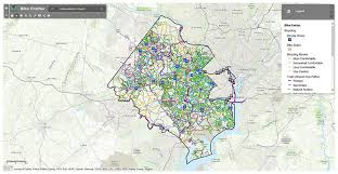 fairfax county map fairfax county bicycle map fairfax county virginia
