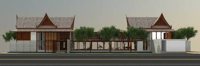 casa msr u2013 thai vacation house design proposal anatomy