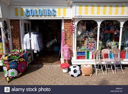 colours shop lion and lamb yard farnham surrey stock photo