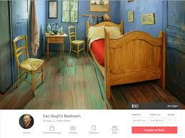 the art institute of chicago s replica of van gogh s bedroom on the art institute of chicago s replica of van gogh s bedroom on airbnb business insider