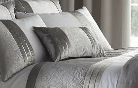 Grey Quilted Bedspread Fascinating Bedroom Quilts And Curtains Marston Damask Duvet Cover